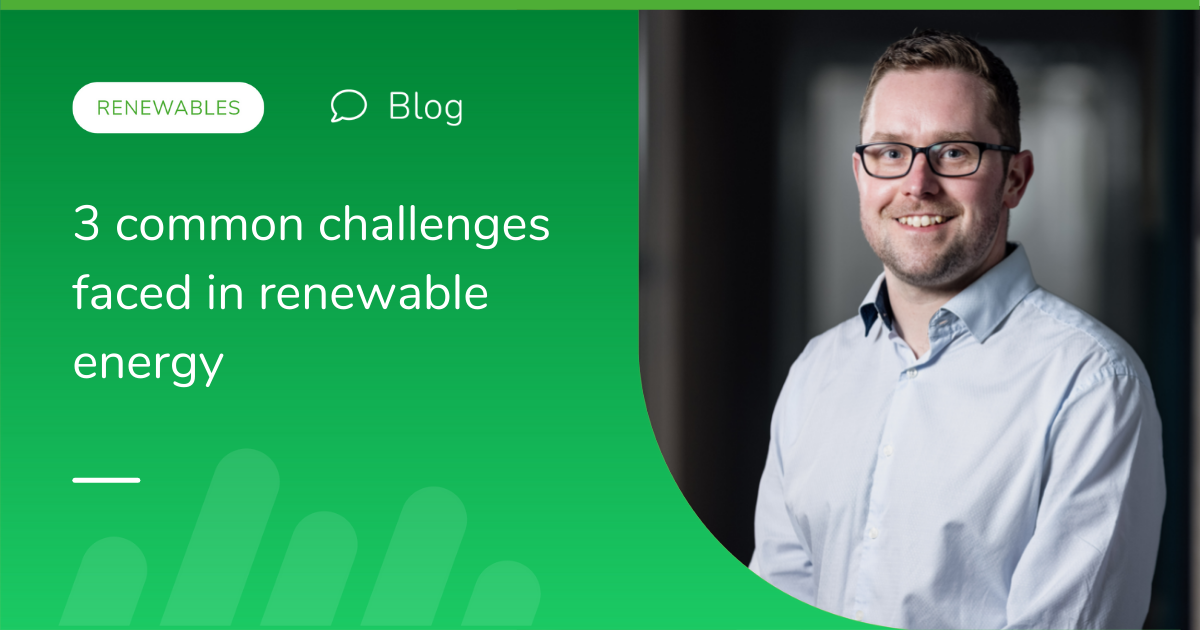 3 common challenges faced in renewable energy