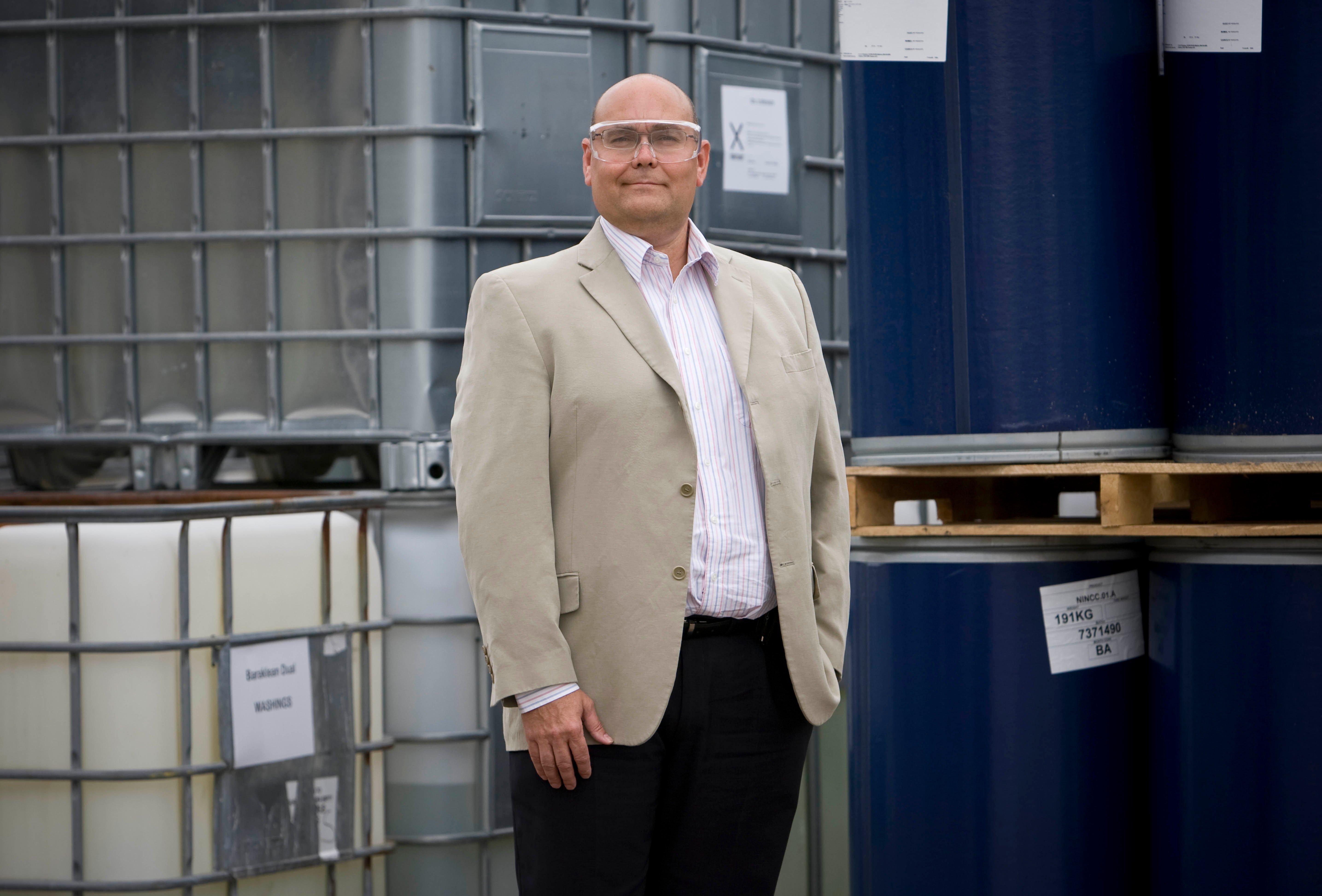 Aubin launches chemical manufacturing facility in Saudi Arabia