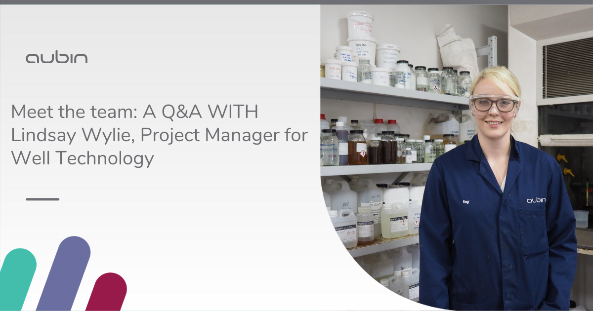 Meet the team: A Q&A WITH Lindsay Wylie, Project Manager for Well Technology