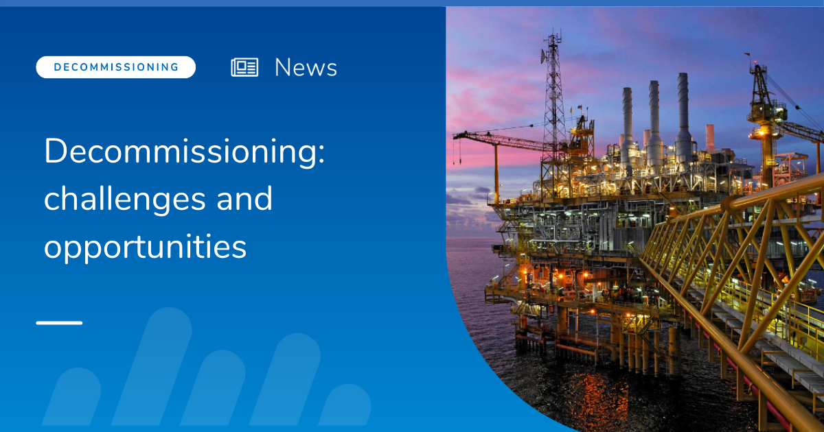 Decommissioning: challenges and opportunities