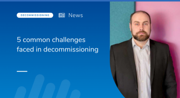5 common challenges faced in decommissioning